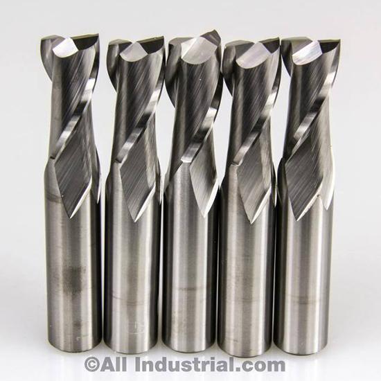 10 PCS 4 FLUTE SOLID CARBIDE 3//8 DIAMETER END MILL X 1 LOC X 2-1//2 CNC BIT